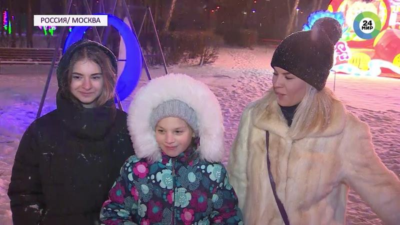 Телеканал Мир. Новости. В парке «Сокольники» открылся фестиваль китайских фонарей
