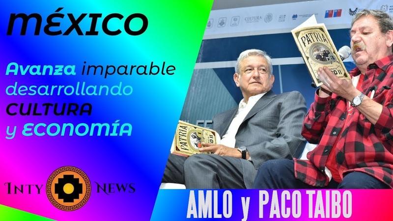 AMLO y PACO TAIBO dos GIGANTES consolidan DESARROLLO de México-14-Nov-2019