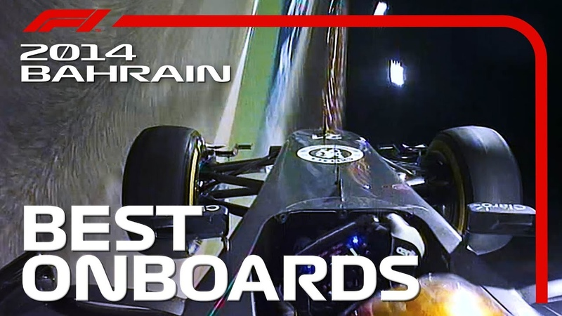 Duelling in the Dark Best Onboards 2014 Bahrain Grand Prix