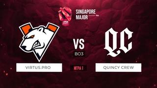 vs Quincy Crew (Игра 1) BO3   ONE Esports Singapore Major