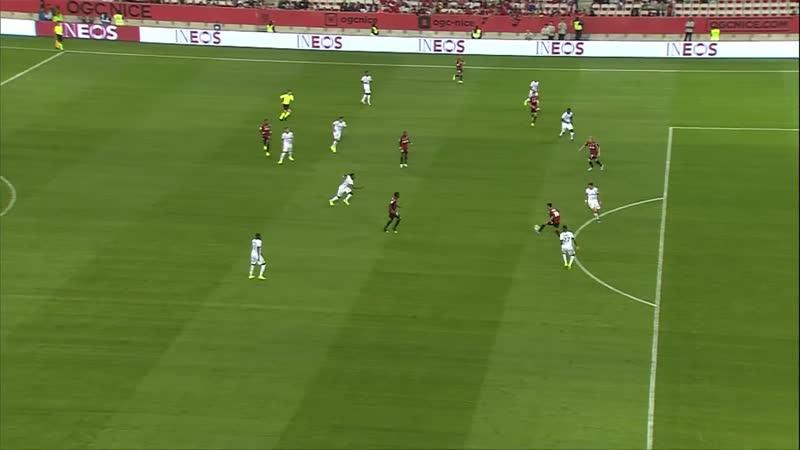 Топ 3 лучших гола Ниццы в первом круге по версии Лиги 1 Комформа