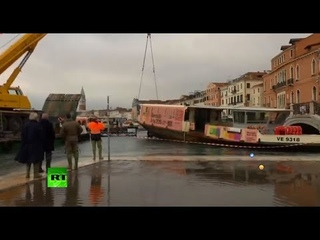 Venice flood 2019 Highest tide in 50 years