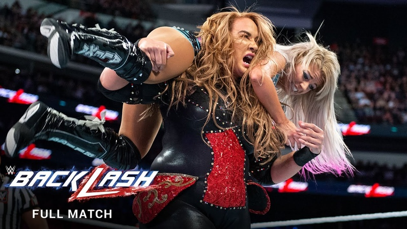 FULL MATCH Nia Jax vs. Alexa Bliss Raw Women s Title Match: WWE Backlash 2018