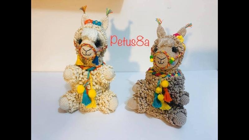 Dulcero de Llama en crochet amigurumis by Petus
