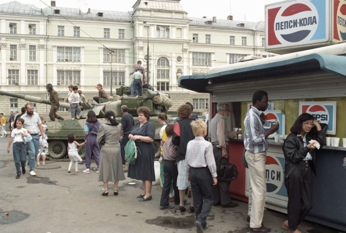19 августа 1991 года, Москва.