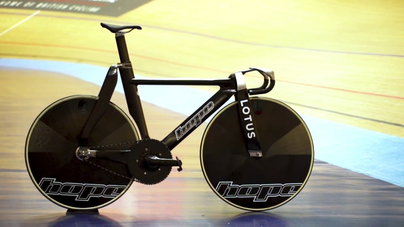 New Track Bike 2019 Behind the Scenes Hope Tech and Lotus Engineering