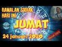 RAMALAN ZODIAK HARI INI JUMAT 24 JANUARI 2020   ZODIAC FORECAST JANUARY 24, 2020