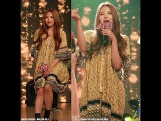 [Fancam]  Señorita (cover) (Sihyeon focus) @ Debut Showcase