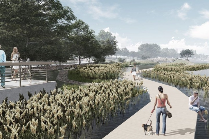 «Взаимодействие с водой»: проектировщики показали новые эскизы правобережной набережной