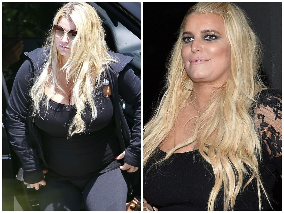 Джессика Симпсон похудела на 45 кг и показала результат