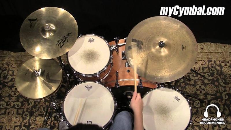 Used Zildjian 20 K Custom Dry Ride Cymbal (UK0886-1071414R)