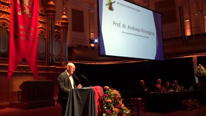 (8356) Prof. dr. Andreas Kinneging - Cultuur onder Vuur Congres 2019 - YouTube