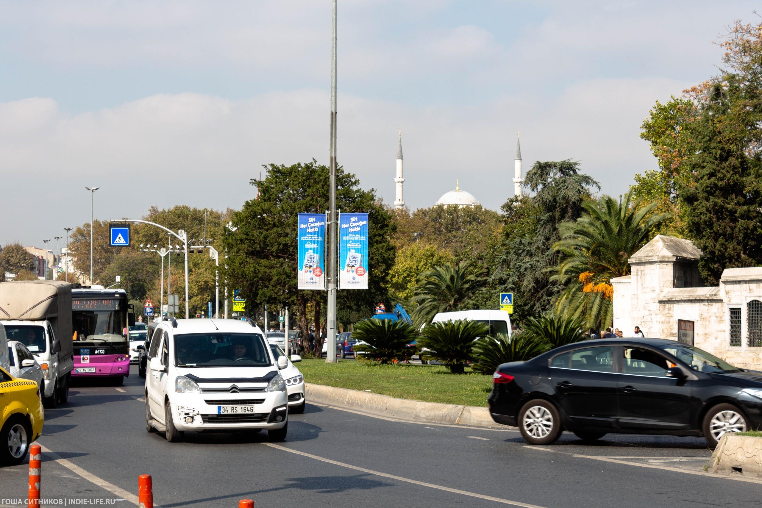 трафик в Стамбуле