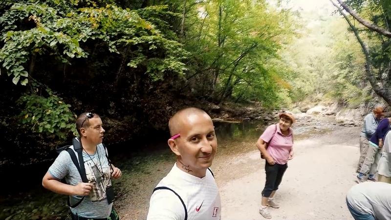 Крымские каникулы Большой Каньон Серебряная беседка Гора Кошка Симеиз горное озеро