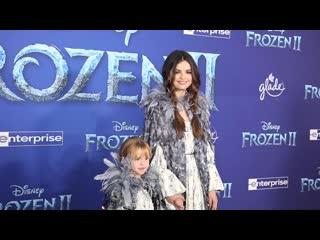 "Selena Gomez and Gracie Teefey - World premiere of Disney's ""Frozen 2"""