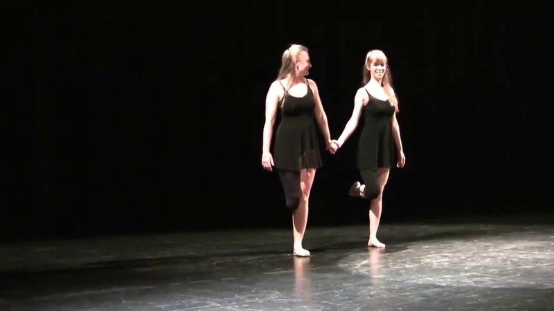 Amputee beautiful dance