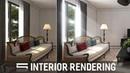 Interior Rendering Bloom Glare Photoshop Architecture