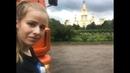 Разгрузка около МГУ и Храма. Буксирую камаз, сломалась полуось.