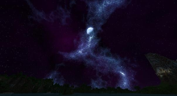 текстуры красивый космос небе для майнкрафт #2