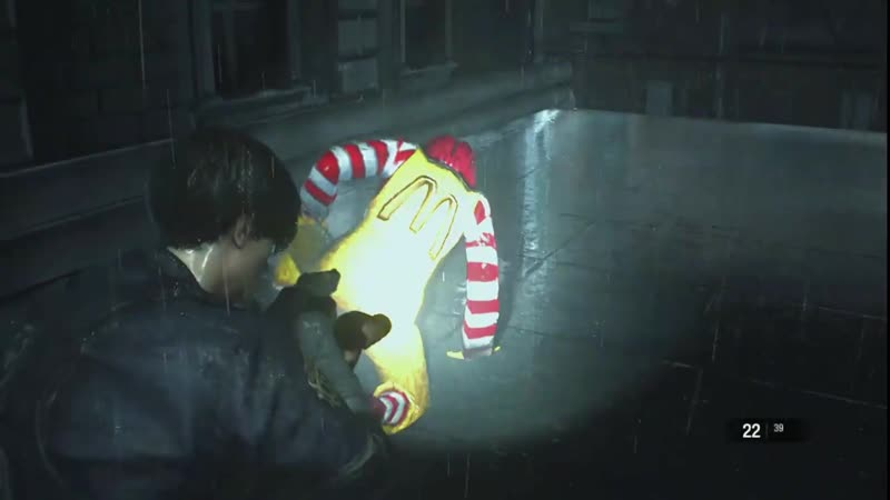 Моддер заменил Тирана из Resident Evil 2 на Рональда Макдональда