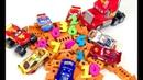 Развивающие Мультфильмы для Самых Маленьких Учим Цифры и Цвета Учимся Считать Мультики про Машинки