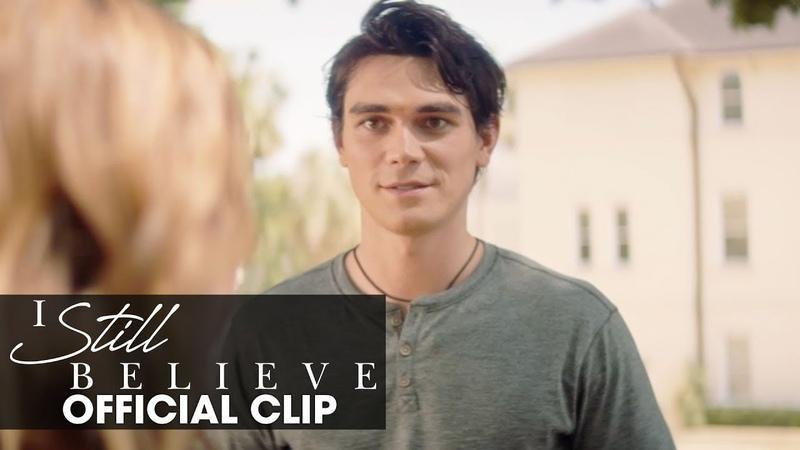 "I Still Believe (2020 Movie) Official Clip ""It's A Date"" | KJ Apa, Britt Robertson"