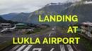Landing in Lukla to Go for Everest Base Camp Trekking Nepal