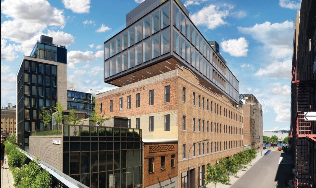 Former garment factory next to NYC's High Line to be topped with new green spaces