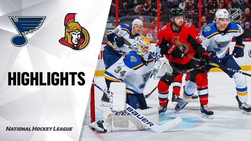 St. Louis Blues vs Ottawa Senators | Oct.10, 2019 | Game Highlights | NHL 2019/20 | Обзор матча