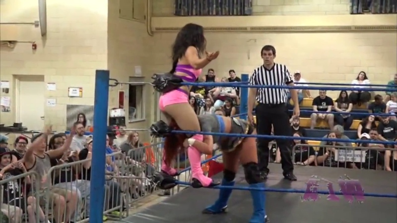 Alexxia Nicole Canadian Destroyer - Absolute Intense Wrestling
