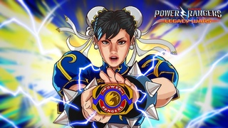 Chun-Li Morphs into Chun-Li Ranger | Official Moveset | Power Rangers: Legacy Wars