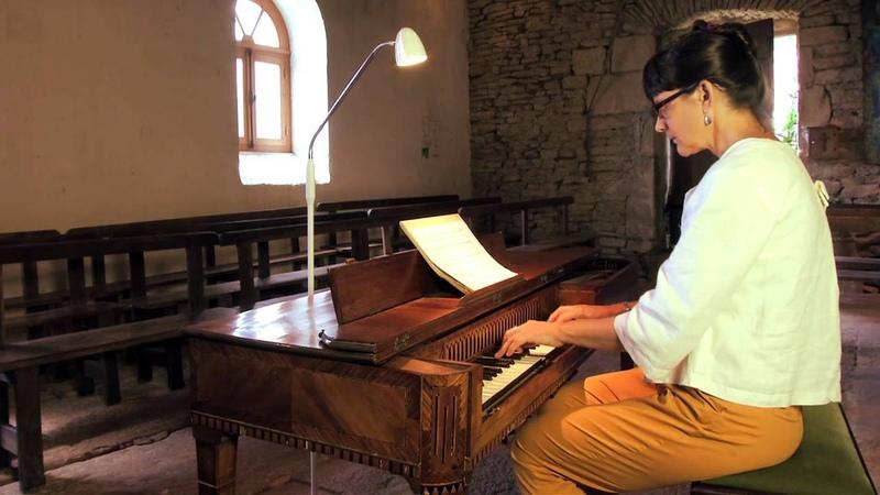 Marcia Hadjimarkos square piano by Johannes Bätz 1789 Ernst Wilhelm Wolf Sonata