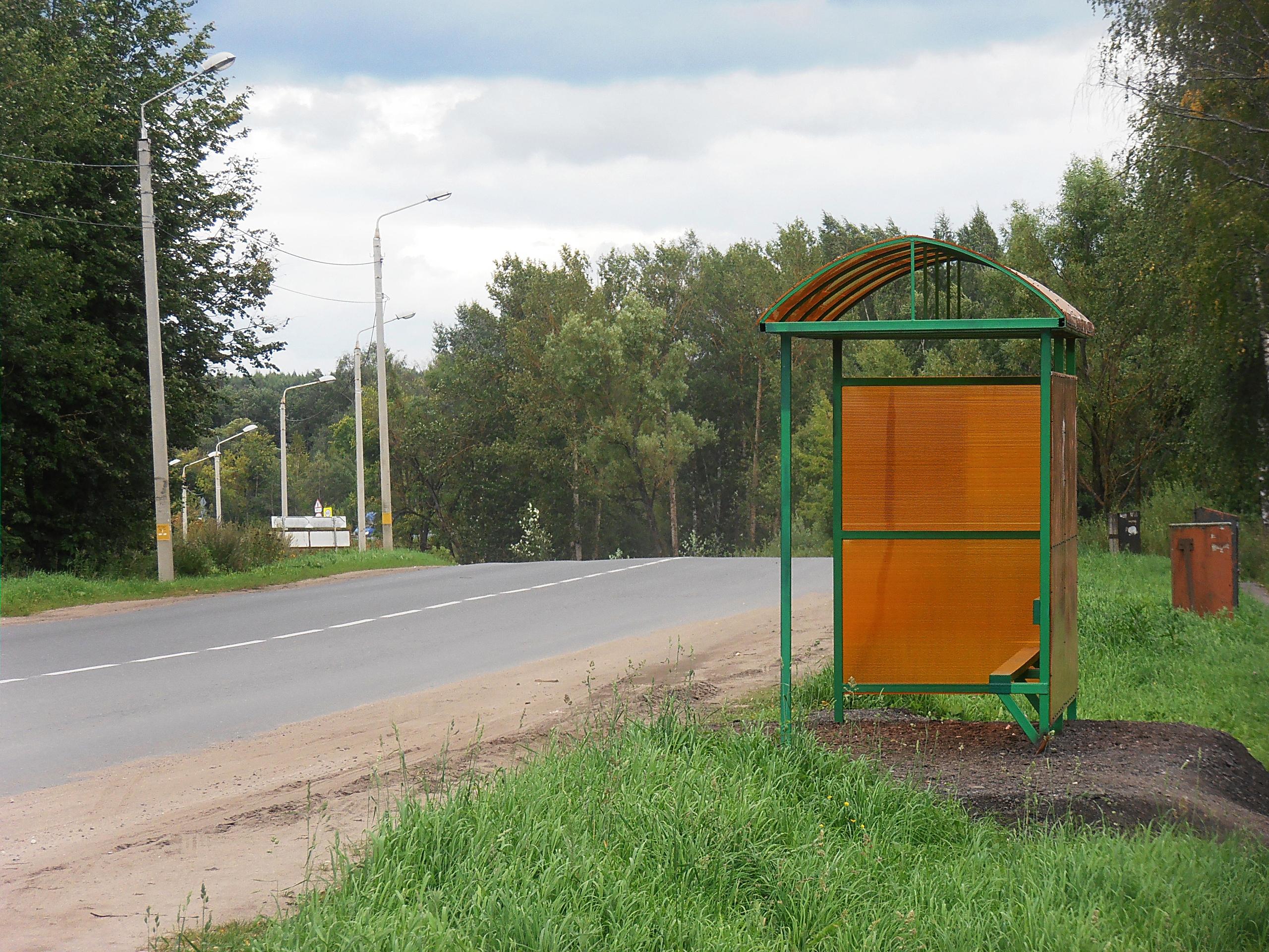 Остановка ул. Оленинская