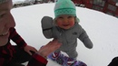 Sloan's First Time on the Slopes