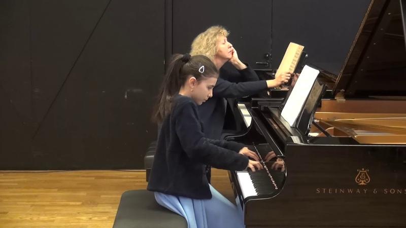 11 23 2018 M Marchenko's master class A Dovgan' Tchaikovsky Children's Album EAMT Tallinn