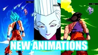 (Dragon Ball Legends) ALL NEW SUMMON ANIMATIONS!! WHIS, SUPER SAIYAN BLUE GOKU, NIMBUS AND MORE!