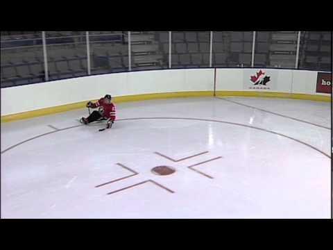 Sledge Hockey Skills Advanced Turning