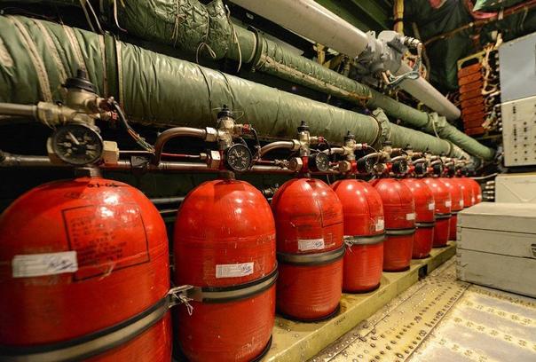 Какая система пожаротушения устанавливается в архив?