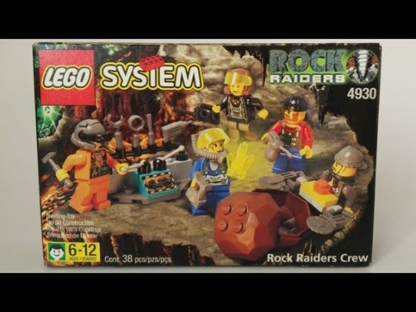 Обзор Lego System Rock raiders 4930