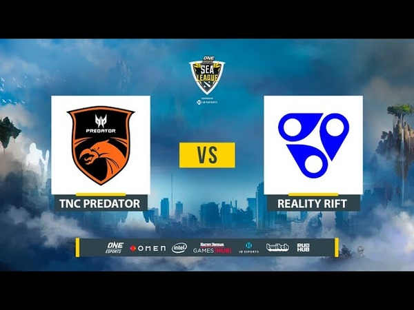 TNC Predator vs Reality Rift ONE Esports Dota 2 SEA League bo2 game 1 Lex