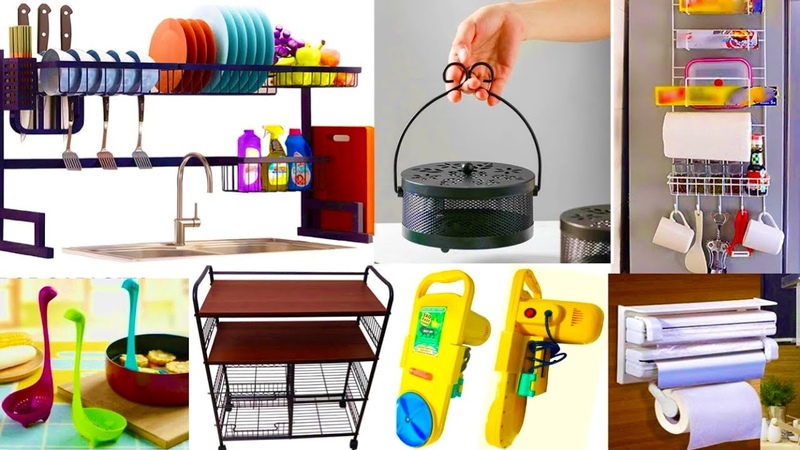 Amazon Must Buy Kitchen Items homeUtilities Kitchen Organisers Spacesaving Items Pantry Decor items
