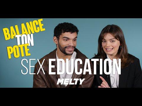 Sex Education (Netflix) - Emma Mackey et Sami Outalbali balancent sur le cast !