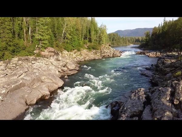 Заповедная красота реки Казыр Трейлер к будущему ролику