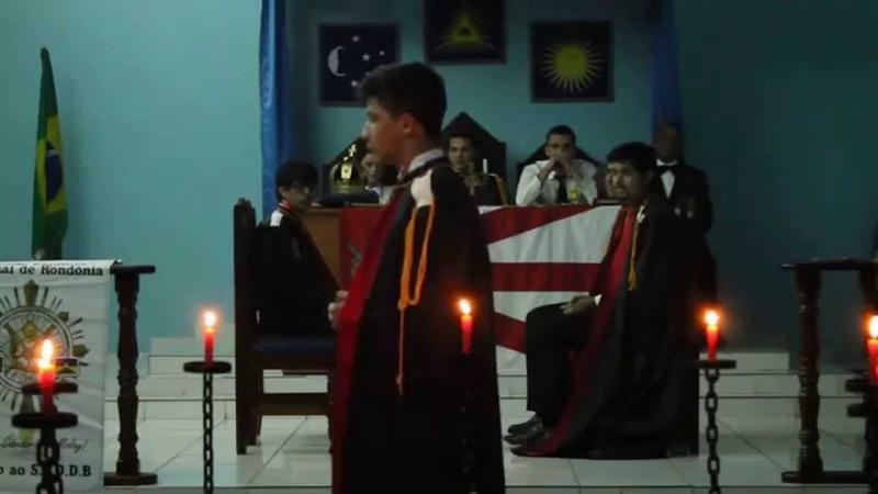 Cerimônia das Luzes Capitulo Vilhena n° 101 da Ordem Demolay S C O D B
