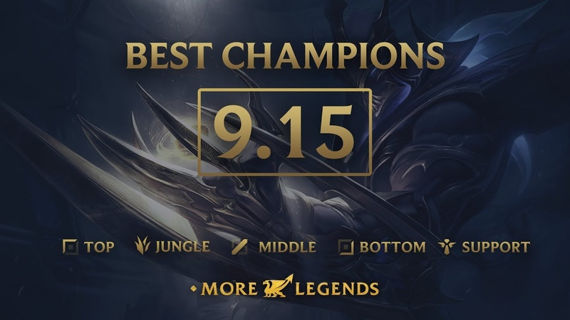 Best Champions in Patch 9.15 - League of Legends