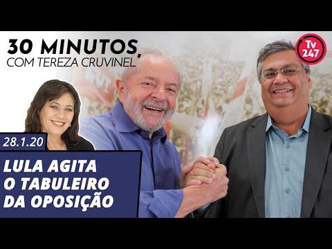 30 minutos com Tereza Cruvinel Lula agita o tabuleiro da oposição (28.1.20)