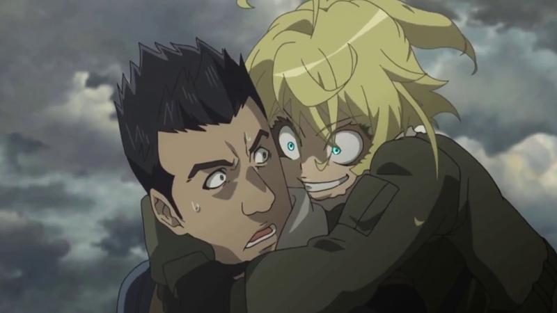 5 minutes of Tanya's face youjo senki