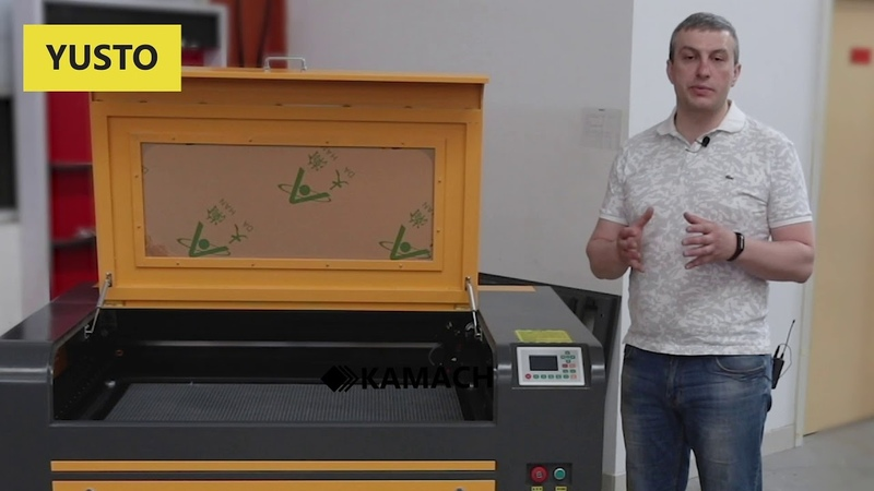 Обзор лазерного станка KAMACH 1080 HYPE камач хайп