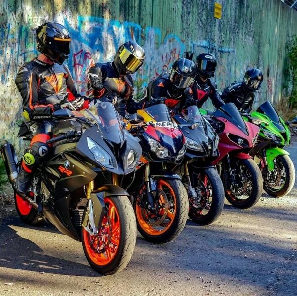 много картинок с мотоциклами высаживать