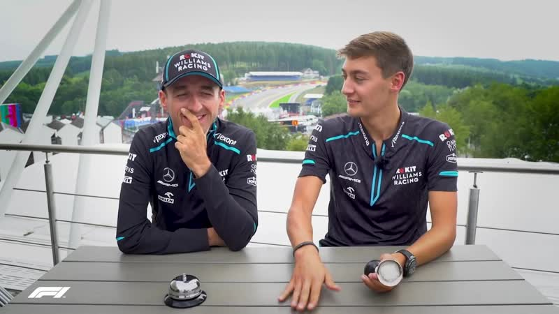 Williams Robert Kubica And George Russell! Grill the Grid 2019